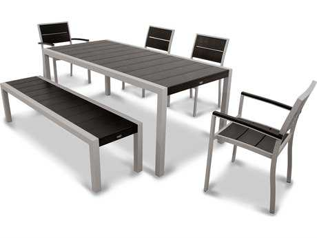 Trex® Surf City Recycled Plastic 6-Piece Dining Set