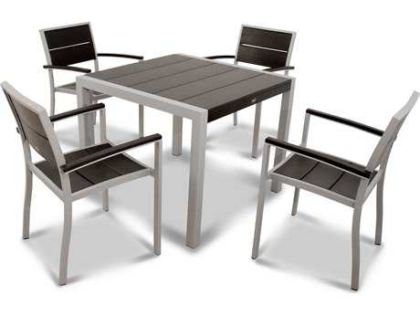 Trex® Surf City Recycled Plastic 5-Piece Dining Set TRXTXS1251
