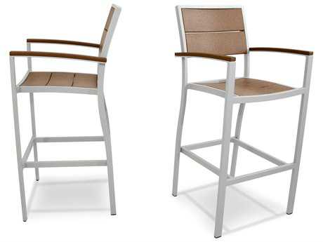 Trex® Surf City Recycled Plastic 2-Piece Bar Chair Set
