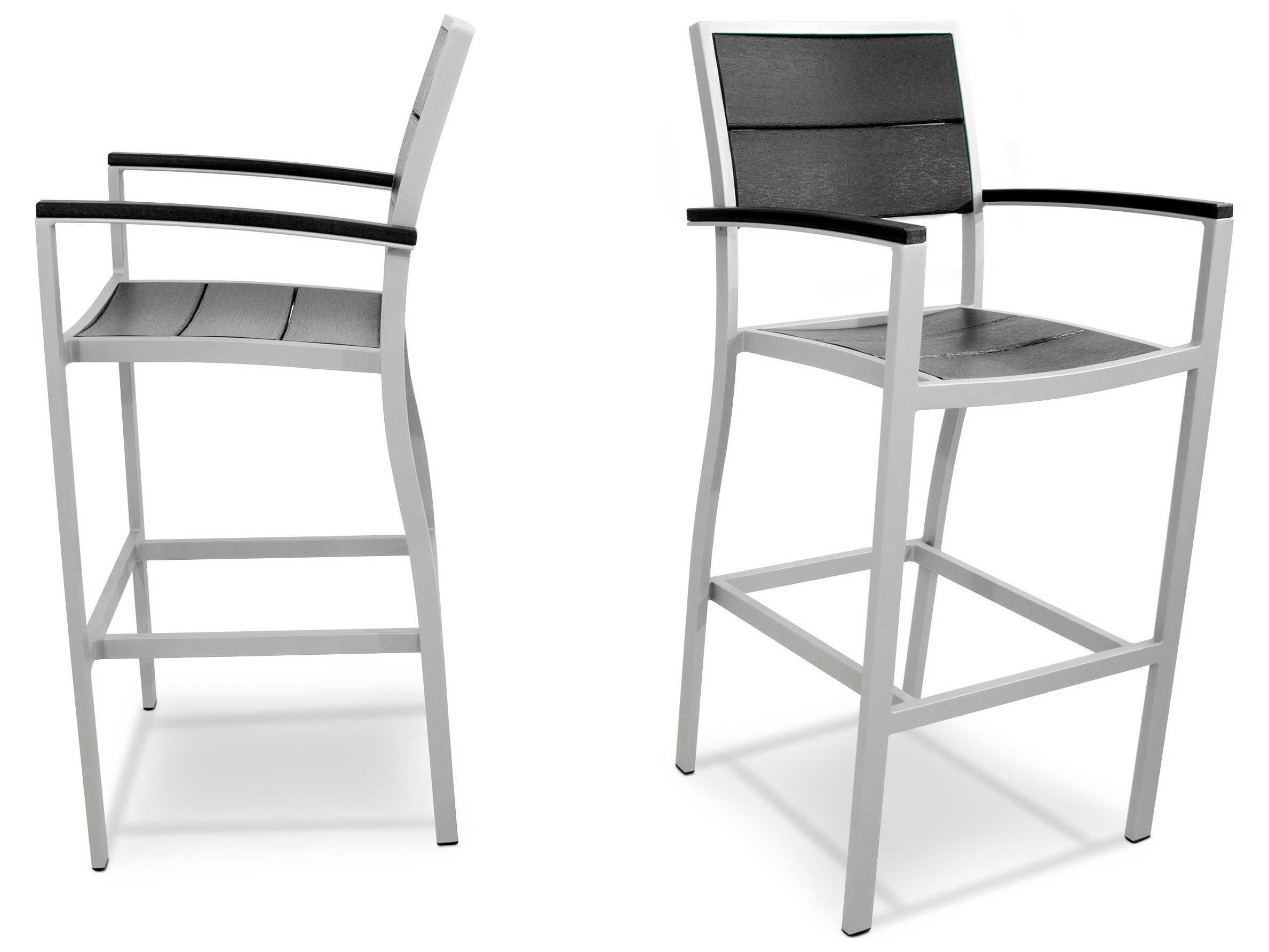 Trex 174 Surf City Recycled Plastic 2 Piece Bar Chair Set