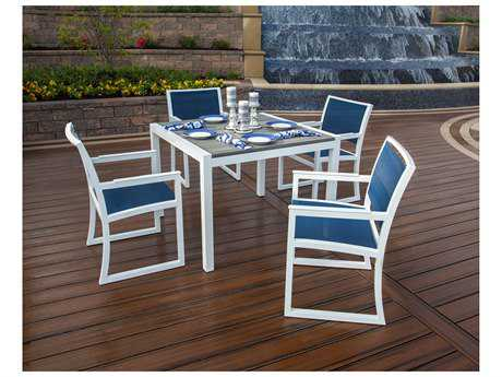 Trex® Parsons Recycled Plastic 5-pc Dining Set