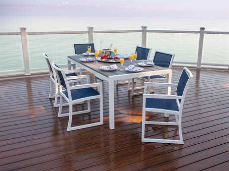 Trex® Parsons Recycled Plastic 7-Piece Dining Set
