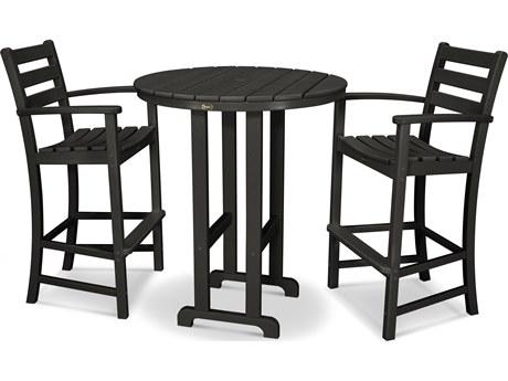 Trex® Outdoor Furniture™ Monterey Bay Recycled Plastic 3 Piece Bar Set