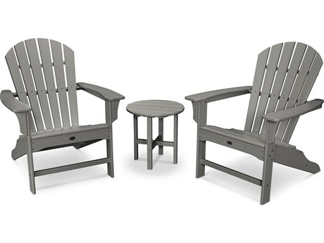 Trex® Outdoor Furniture Cape Cod Shellback 3-Piece Adirondack Set in Stepping Stone