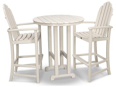 Trex® Outdoor Furniture Cape Cod 3-Piece Bar Set in Sand Castle