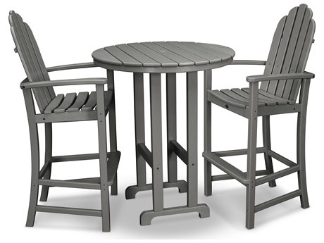 Trex® Outdoor Furniture Cape Cod 3-Piece Bar Set in Stepping Stone