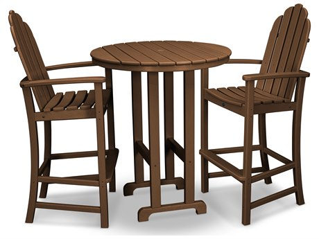Trex® Outdoor Furniture Cape Cod 3-Piece Bar Set in Tree House