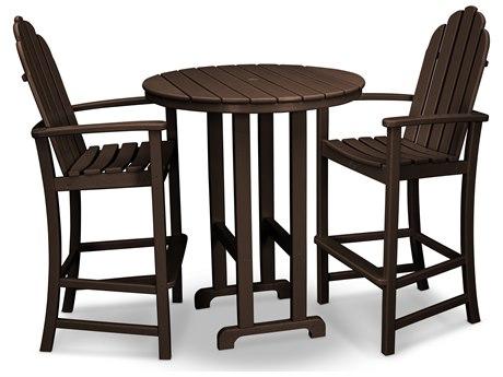 Trex® Outdoor Furniture Cape Cod 3-Piece Bar Set in Vintage Lantern