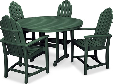 Trex® Outdoor Furniture Cape Cod 5-Piece Dining Set in Rainforest Canopy