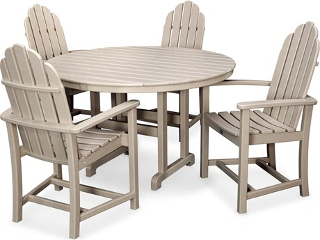 Trex® Outdoor Furniture Cape Cod 5-Piece Dining Set in Sand Castle