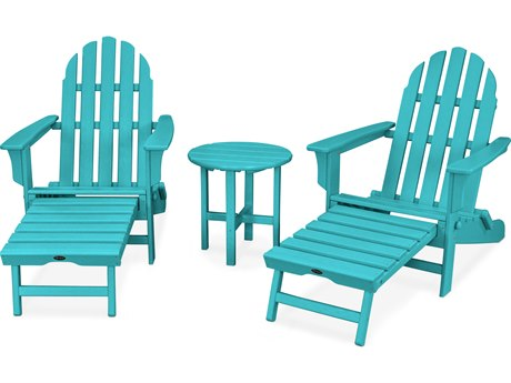 Trex® Outdoor Furniture Cape Cod 3-Piece Ultimate Adirondack Set in Aruba