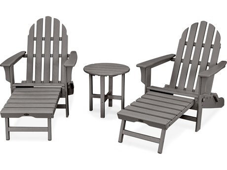 Trex® Outdoor Furniture Cape Cod 3-Piece Ultimate Adirondack Set in Stepping Stone