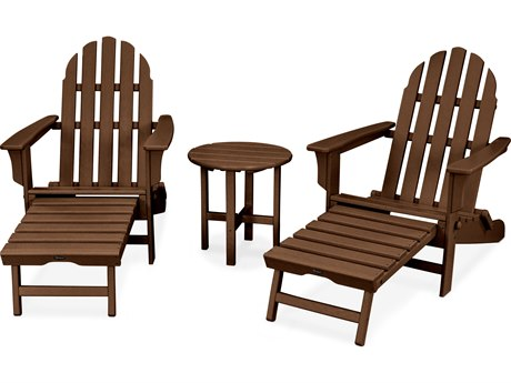 Trex® Outdoor Furniture Cape Cod 3-Piece Ultimate Adirondack Set in Tree House