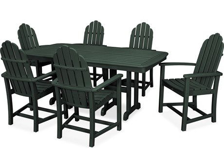 Trex® Outdoor Furniture Cape Cod 7-Piece Dining Set in Rainforest Canopy