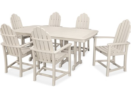 Trex® Outdoor Furniture Cape Cod 7-Piece Dining Set in Sand Castle