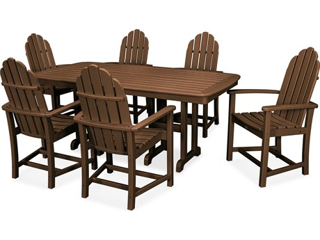 Trex® Outdoor Furniture Cape Cod 7-Piece Dining Set in Tree House