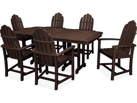 Trex® Outdoor Furniture Cape Cod 7-Piece Dining Set in Vintage Lantern