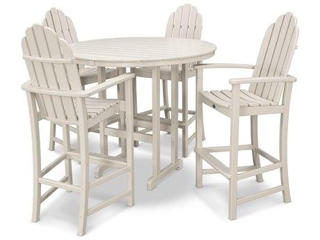 Trex® Outdoor Furniture Cape Cod 5-Piece Bar Set in Sand Castle
