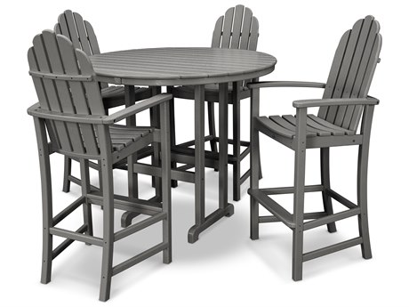 Trex® Outdoor Furniture Cape Cod 5-Piece Bar Set in Stepping Stone