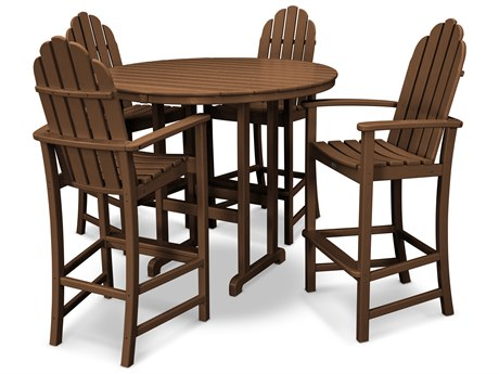 Trex® Outdoor Furniture Cape Cod 5-Piece Bar Set in Tree House