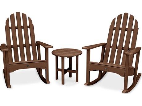 Trex® Outdoor Furniture Cape Cod 3-Piece Adirondack Rocker Set in Tree House