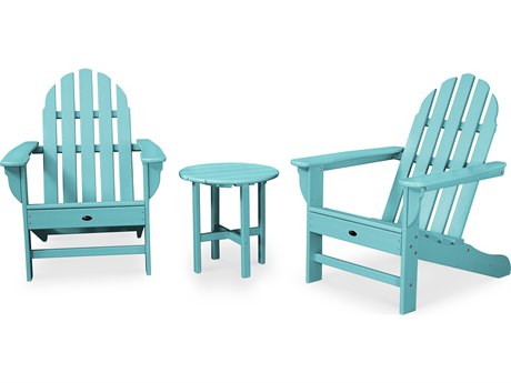 Trex® Outdoor Furniture Cape Cod 3-Piece Adirondack Set in Aruba