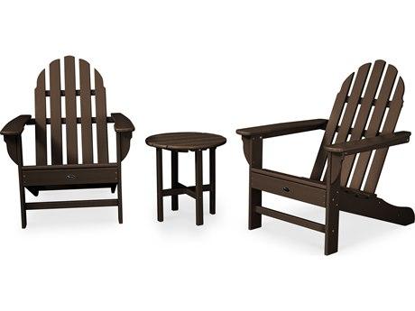 Trex® Outdoor Furniture Cape Cod 3-Piece Adirondack Set in Vintage Lantern