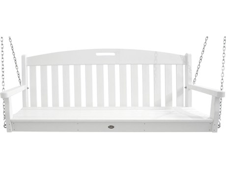 Trex® Outdoor Furniture Yacht Club Swing in Classic White