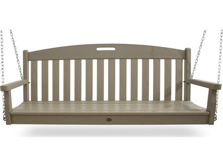 Trex® Outdoor Furniture Yacht Club Swing in Sand Castle