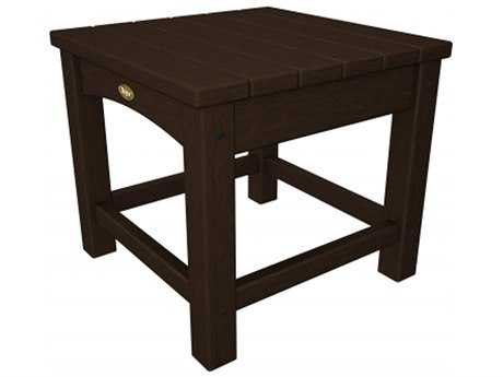 Trex® Rockport Recycled Plastic Club 18 Square Side Table TRXTXT1818