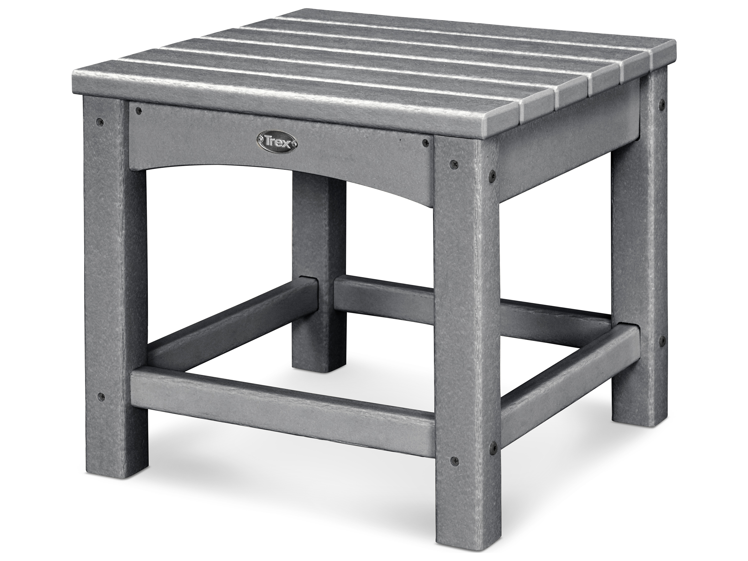 Trex® Outdoor Furniture Rockport Club 18'' Side Table in ...