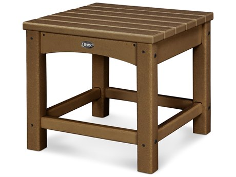 Trex® Outdoor Furniture Rockport Club 18'' Side Table in Tree House TRXTXT1818TH