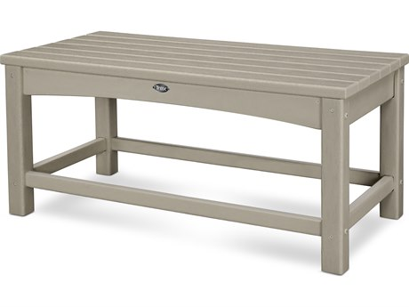 Trex® Outdoor Furniture Rockport Club Coffee Table in Sand Castle TRXTXT1836SC