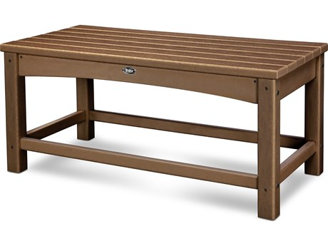 Trex® Outdoor Furniture Rockport Club Coffee Table in Tree House TRXTXT1836TH