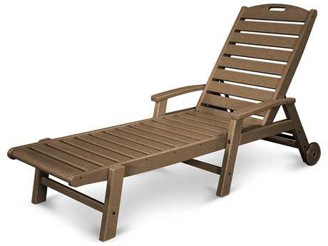 Trex® Outdoor Furniture Yacht Club Wheeled Chaise in Tree House