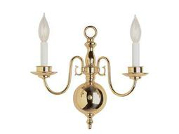 Trans Globe Lighting Mission Indoor Brushed Nickel Two-Light Wall Sconce