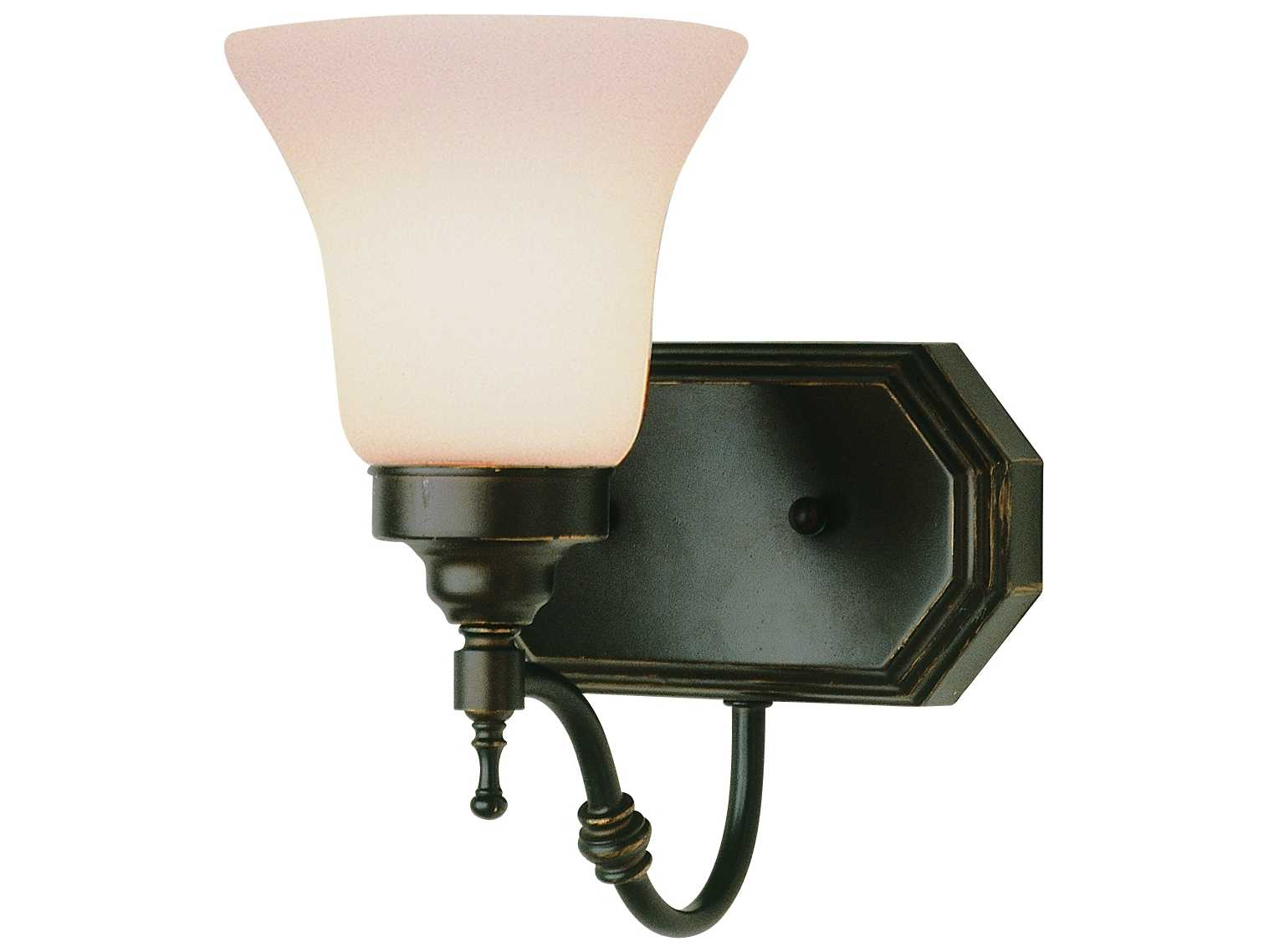 Trans Globe Lighting Mission Indoor Oil Rubbed Bronze Wall Sconce TS3931ROB