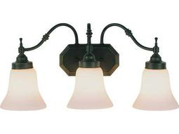 Trans Globe Lighting Mission Indoor Oil Rubbed Bronze Three-Light Vanity Light