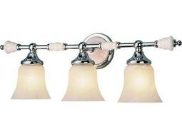 Trans Globe Lighting Mission Indoor Polished Chrome Three-Light Vanity Light