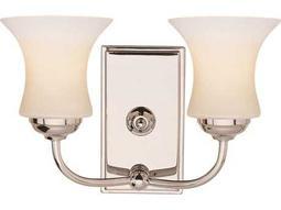 Trans Globe Lighting Contemporary Indoor Polished Chrome Two-Light Vanity Light