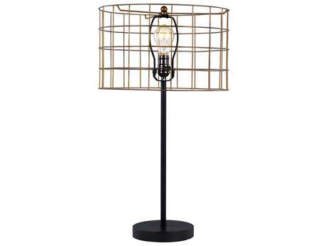 Trans Globe Lighting Retro Brown Table Lamp