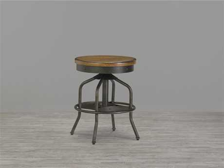 Universal Furniture Great Rooms Hickory Stick & Black Table Stool (Sold in 2)