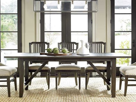 Universal Furniture Berkeley-3 100''L x 36''W Rectangular Brownstone Dining Table