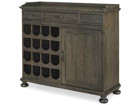 Universal Furniture Berkeley-3 Brownstone Wine Cabinet