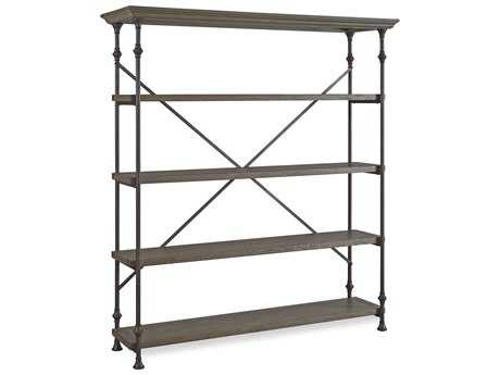 Universal Furniture Berkeley-3 68''L x 20''W Brownstone Bookcase