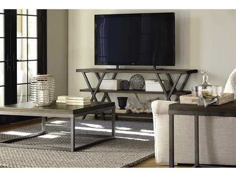 Universal Furniture Berkeley-3 72''L x 18''W Rectangular Brownstone TV Stand