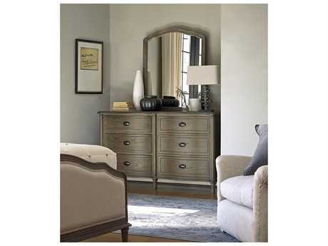 Universal Furniture Devon Studio Double Dresser & Mirror Set