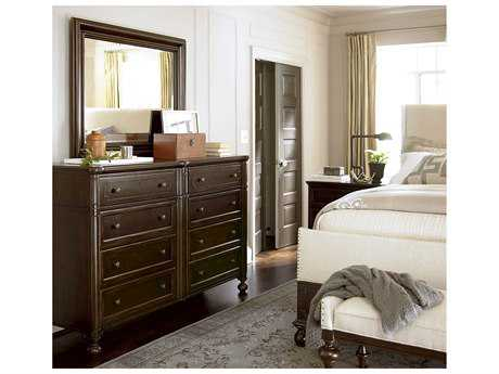 Universal Furniture Proximity Sumatra Double Drawer Dresser & Mirror Set