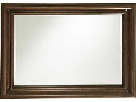 Universal Furniture Proximity 37''W x 47''H Rectangular Sumatra Landscape Mirror