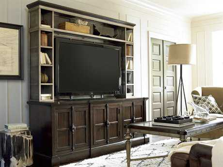 Universal Furniture Proximity 77''L x 22''W Rectangular Sumatra Entertainment Console with Deck
